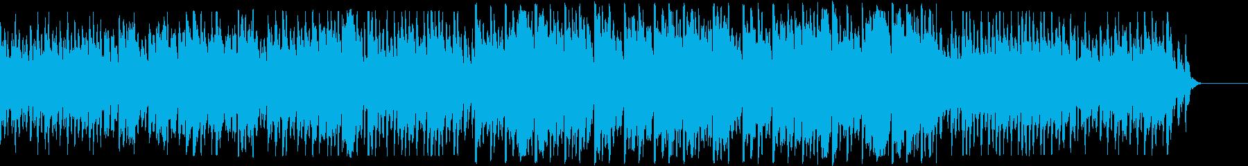 ハープの音色が美しいバラードの再生済みの波形