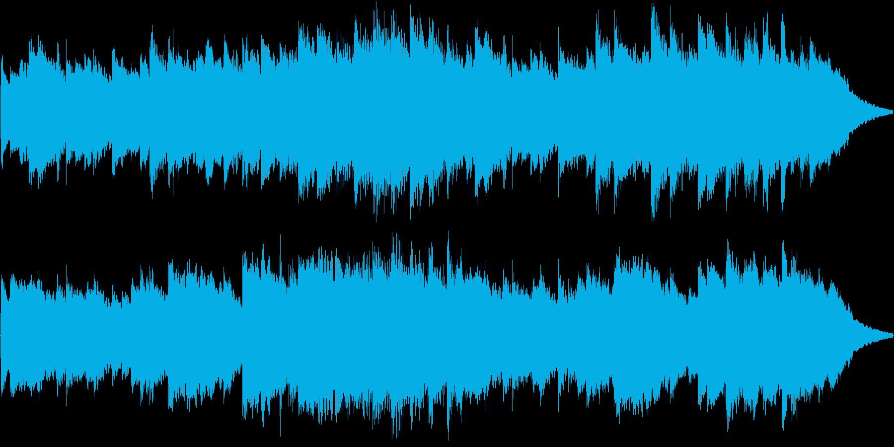 オルゴール曲で、着信音やオルゴールの曲…の再生済みの波形