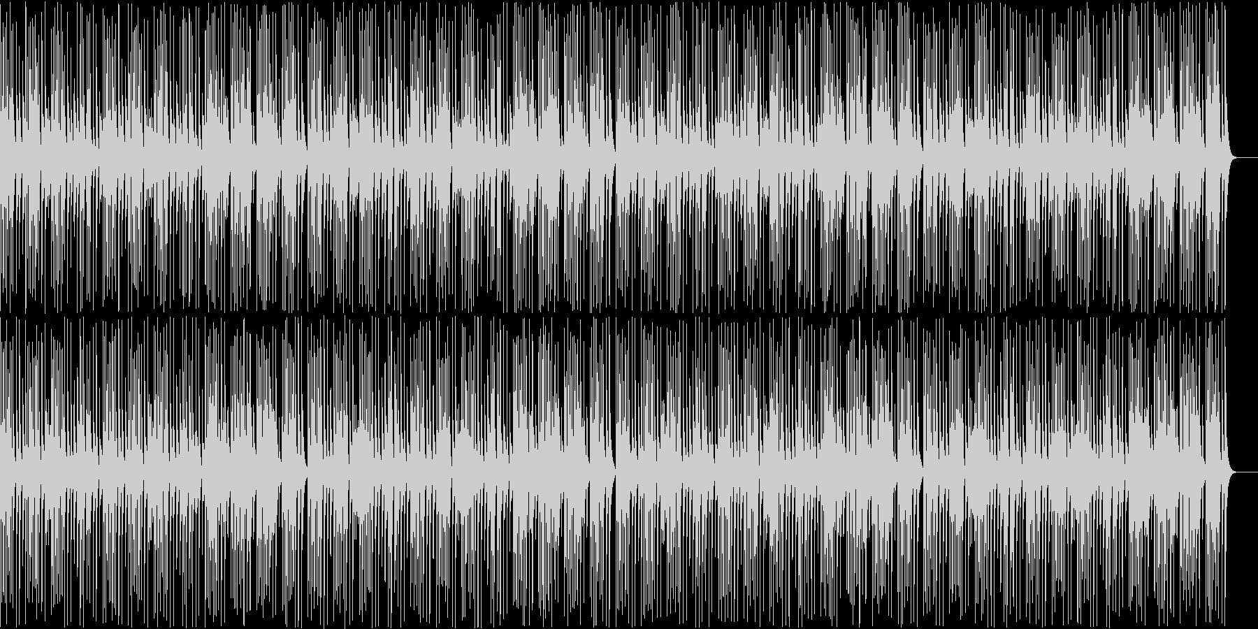 木琴がコミカルで可愛い名曲ガヴォットの未再生の波形