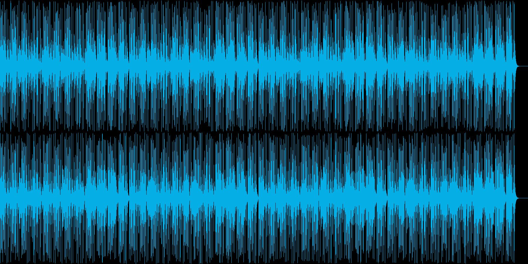 木琴がコミカルで可愛い名曲ガヴォットの再生済みの波形