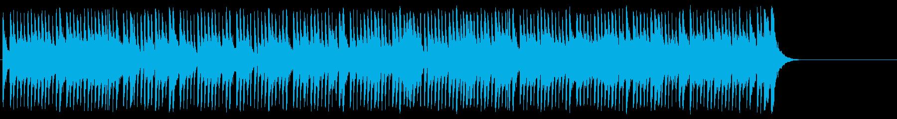お洒落なポップ/ボサノバ/BGの再生済みの波形