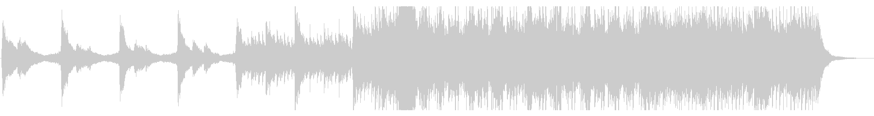 【生演奏】アコギとピアノの爽やかな曲の未再生の波形