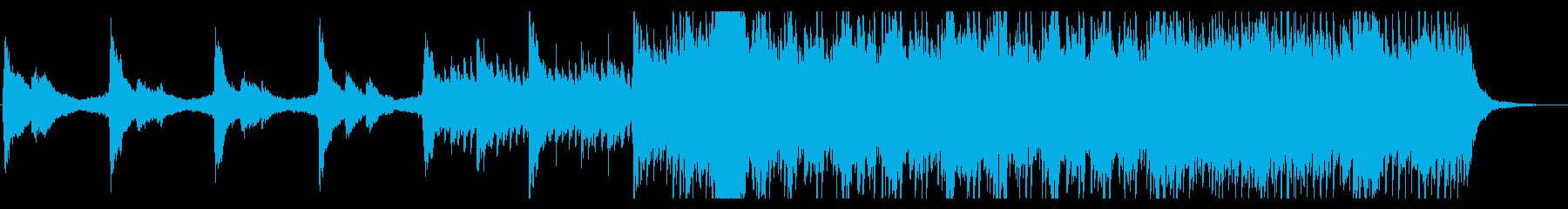 【生演奏】アコギとピアノの爽やかな曲の再生済みの波形