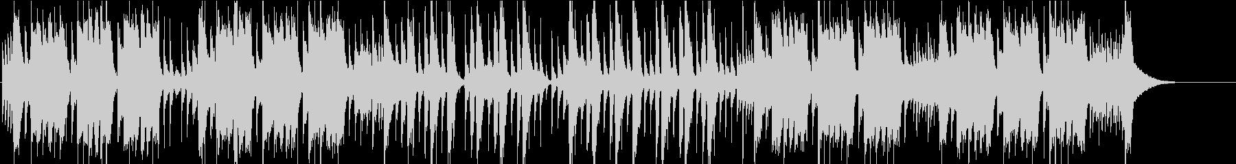 コミカルでゴリゴリのギターロックの未再生の波形