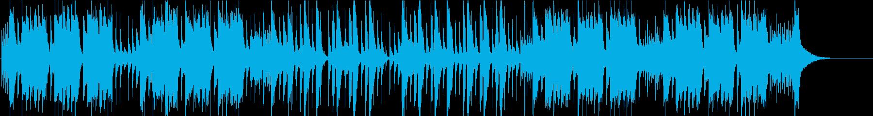 コミカルでゴリゴリのギターロックの再生済みの波形