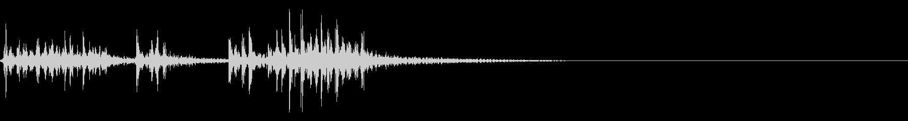 スパーク音-46の未再生の波形