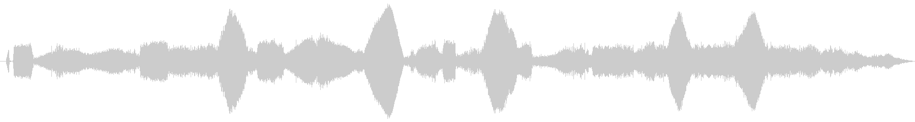 ドローン SFジェネレーター06の未再生の波形