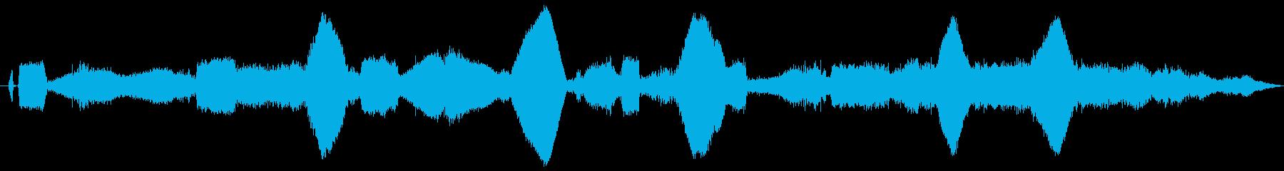 ドローン SFジェネレーター06の再生済みの波形