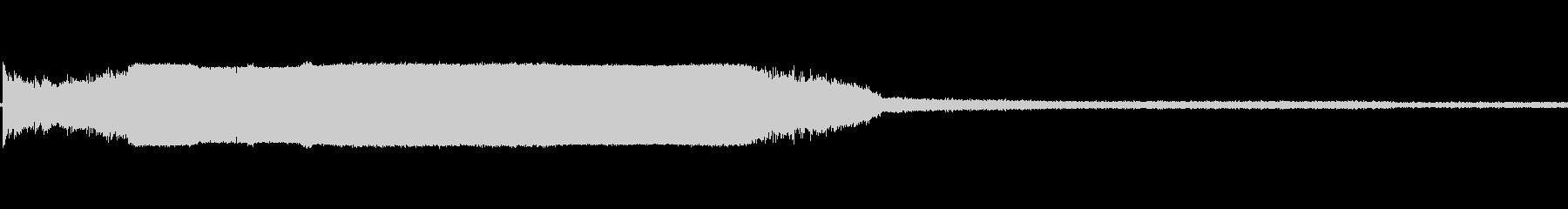 トーチ火炎溶射溶接bの未再生の波形