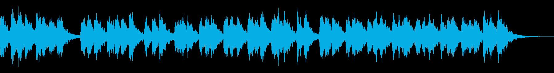 宇宙的で壮大なシューゲイザー風サウンドの再生済みの波形
