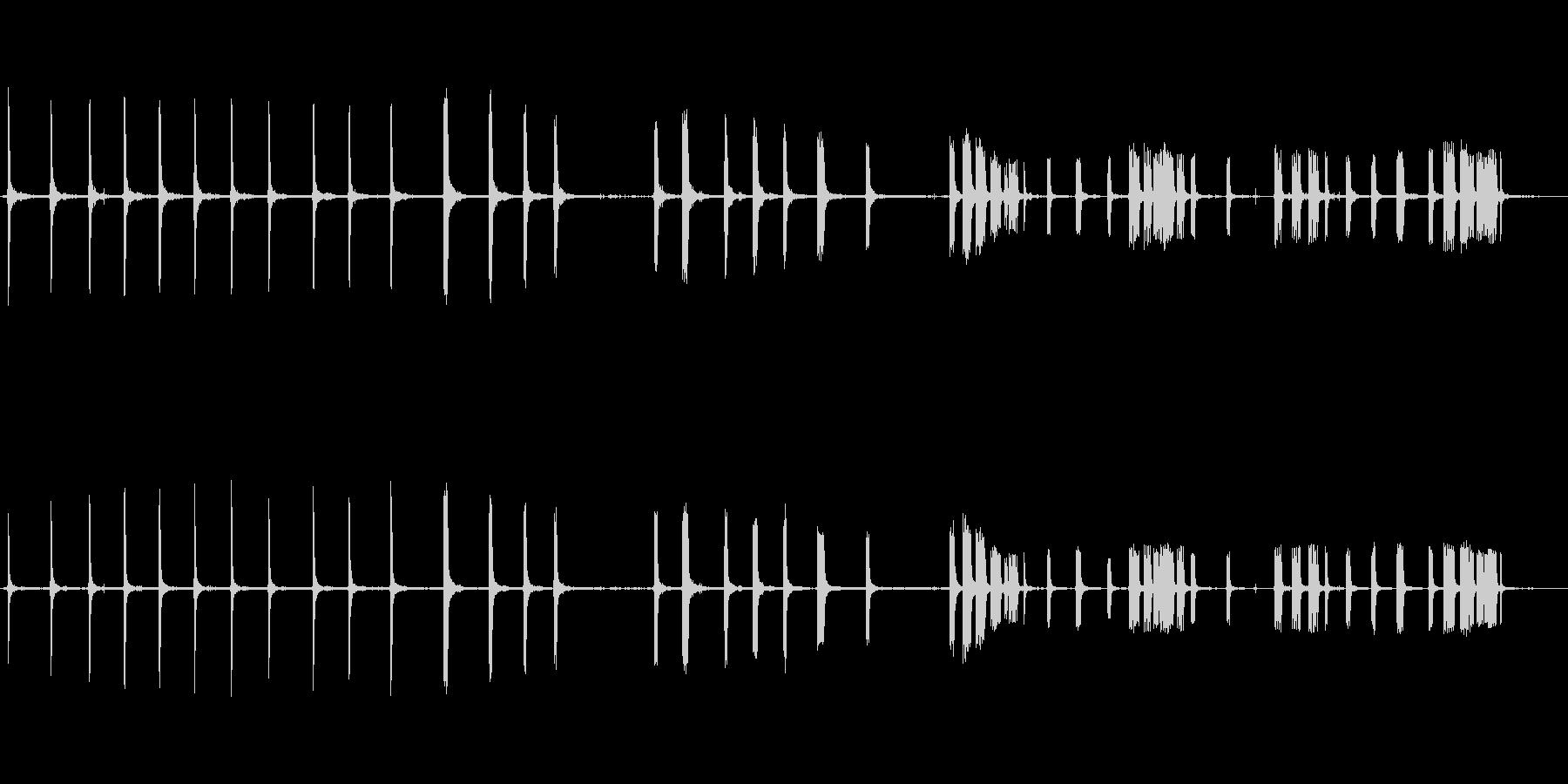 ミニパイマーの未再生の波形