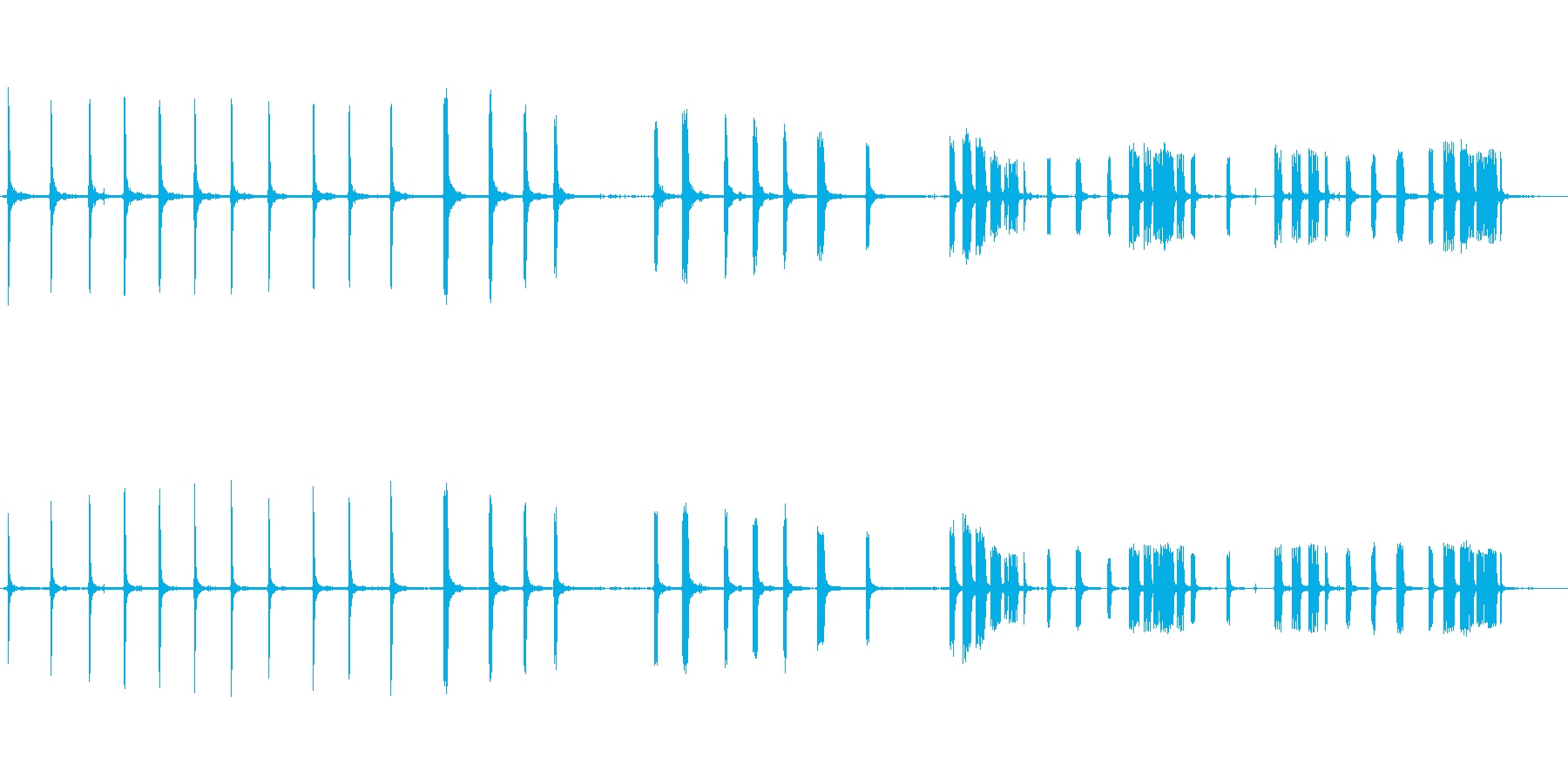 ミニパイマーの再生済みの波形