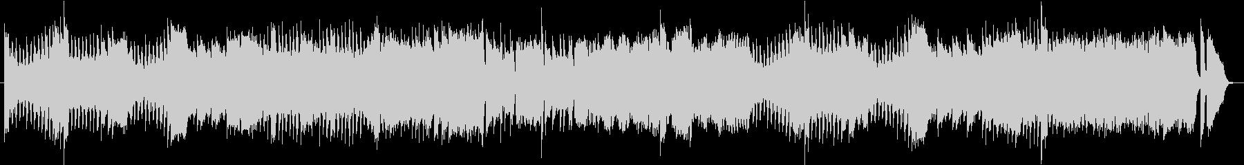 ショパン エチュード10-4 ピアノソロの未再生の波形