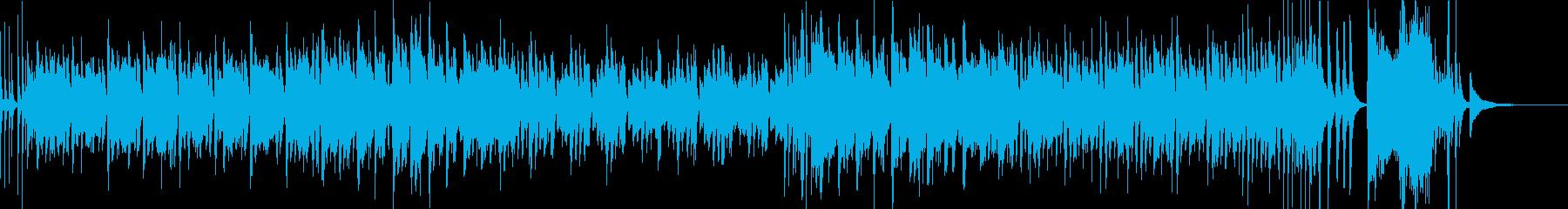 ポップなSwing Jazzの再生済みの波形