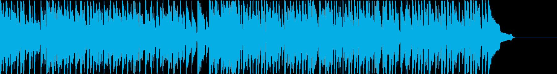パズルゲーム向ゆるゆる系BGM 短縮版の再生済みの波形