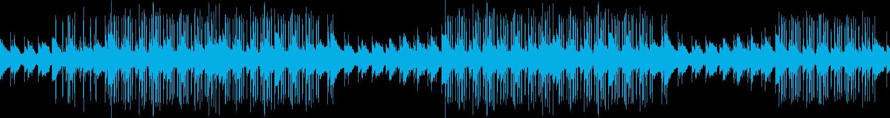 綺麗・ピアノ・お洒落・夜・センチ・ループの再生済みの波形