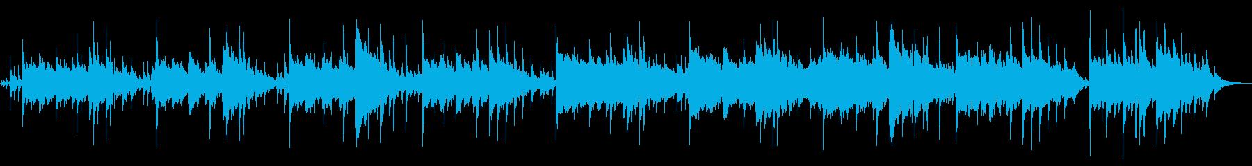 遅延マリンバとソフトベースのフルー...の再生済みの波形