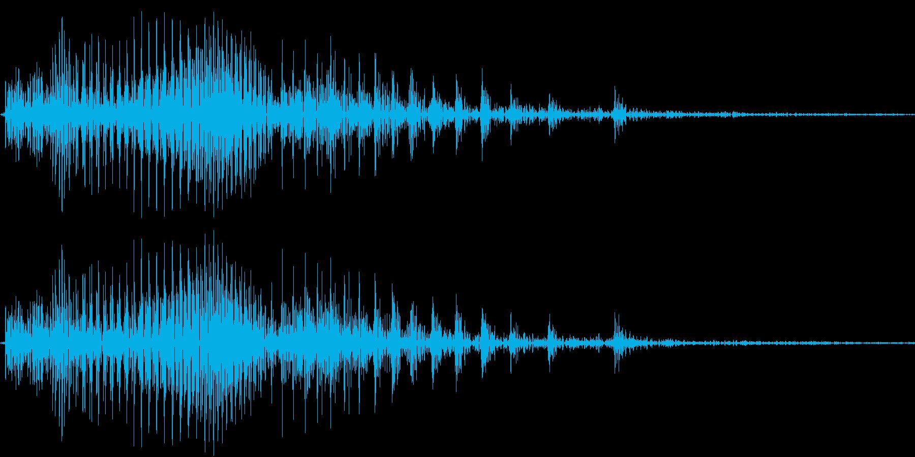 Piko ピコハン・幼児向け玩具の音の再生済みの波形