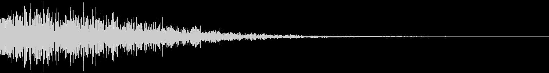 ドゥーン サウンドロゴ ハリウッド系の未再生の波形