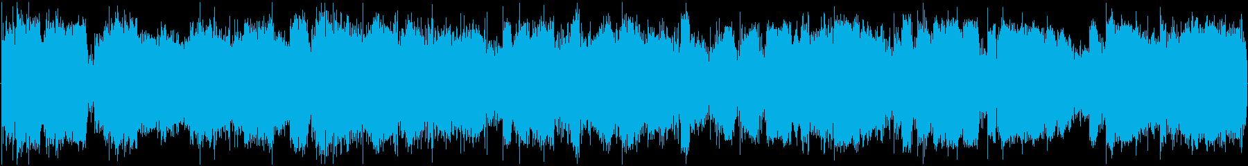 イメージ 極端な異常な狂気低01の再生済みの波形