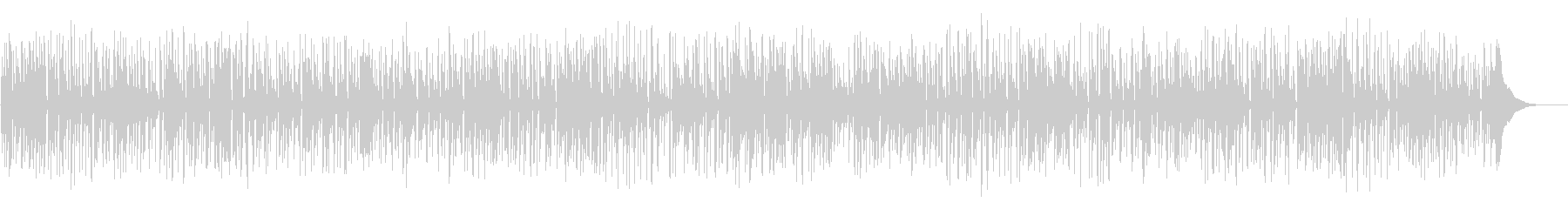 ほのぼのとした生演奏フォークギターデュオの未再生の波形