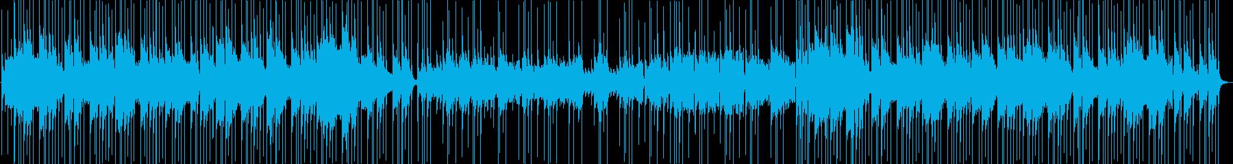 お琴と尺八・太鼓 ほのぼのした感じの再生済みの波形