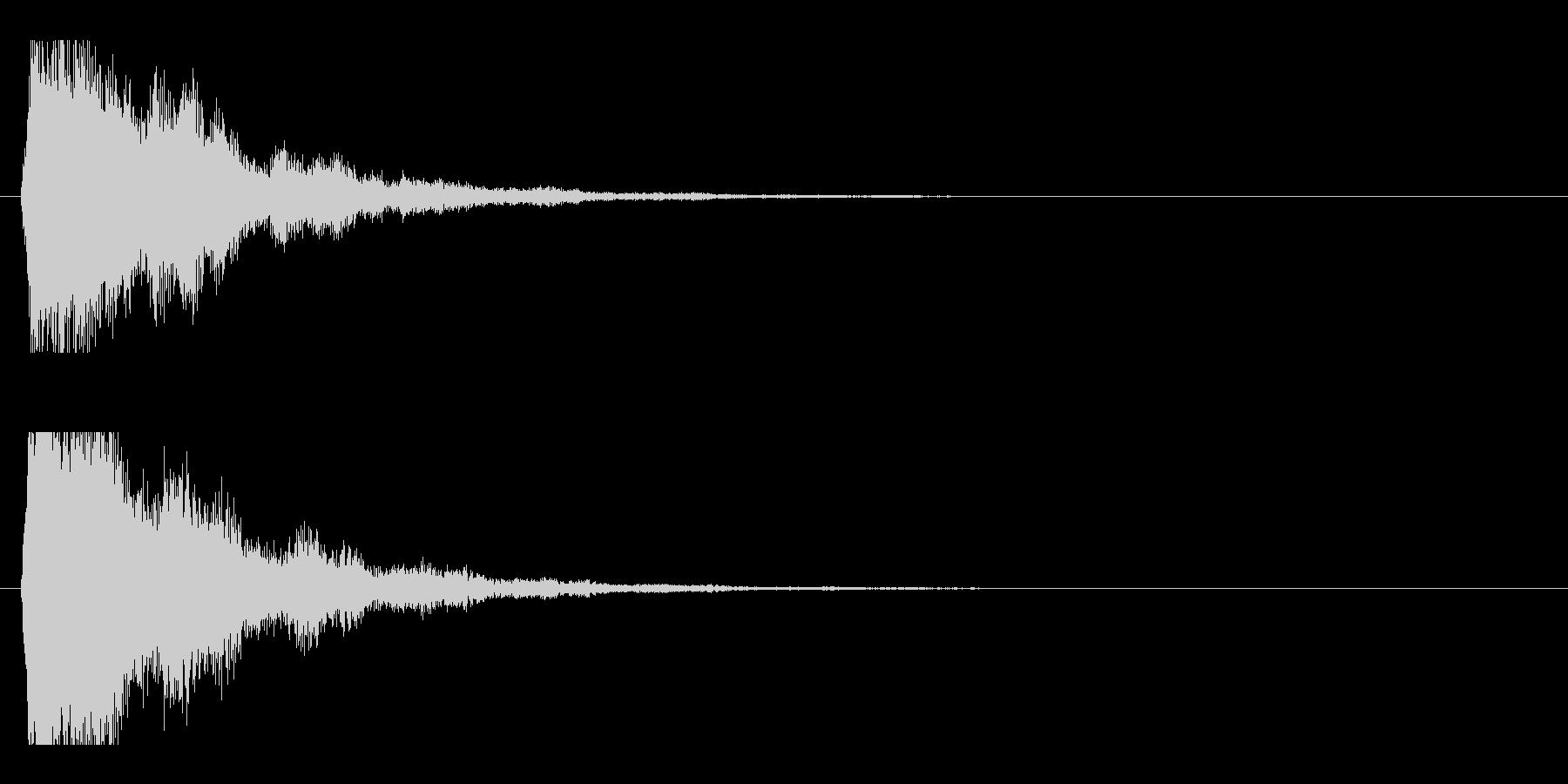 レーザー音-48-2の未再生の波形