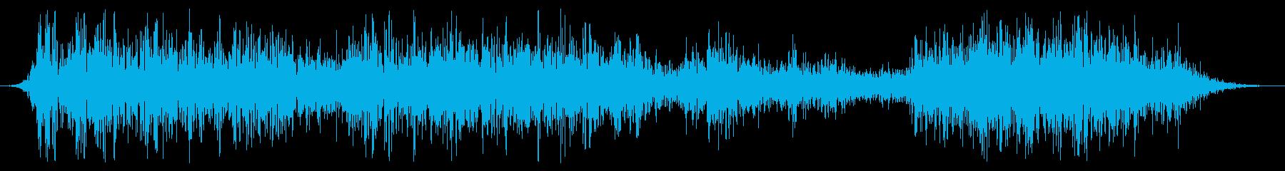 ミディアムメタルキャビネット:低い...の再生済みの波形