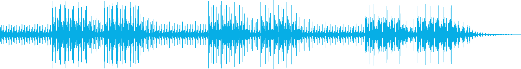 琴の旋律が生み出すオリエンタルなビートの再生済みの波形