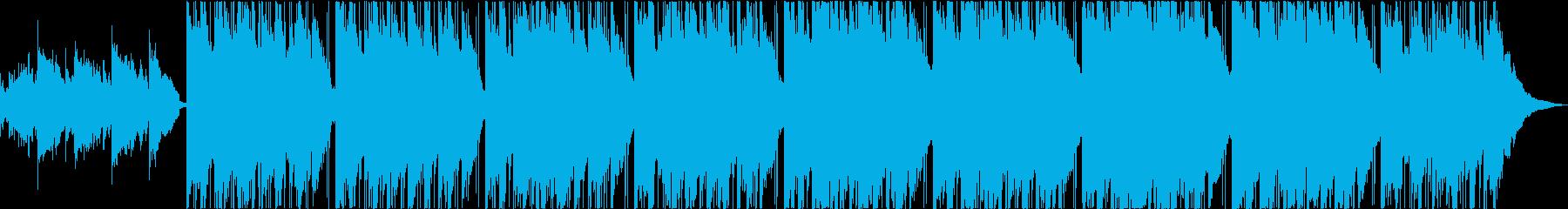 タブラとシンセ、透き通る神秘的なBGMの再生済みの波形