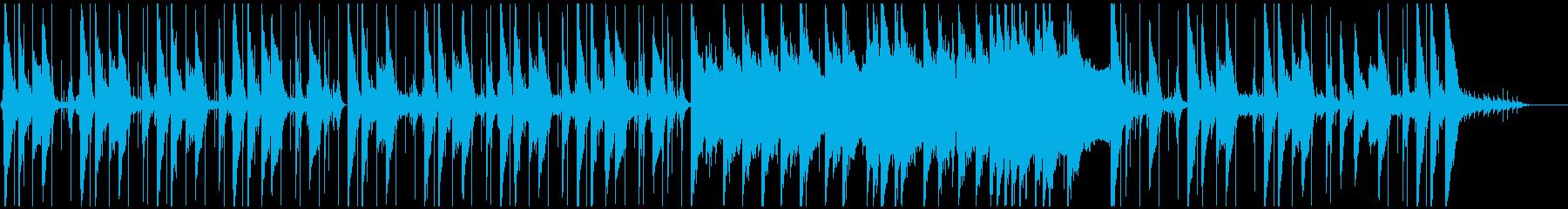 リラックスできるジャジーなヒップホップの再生済みの波形