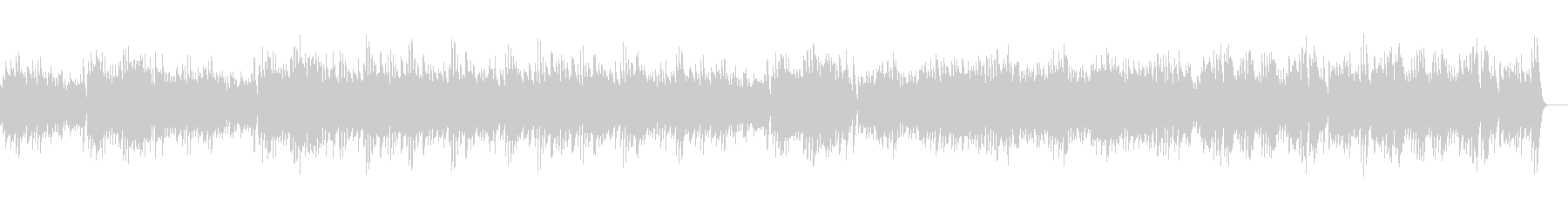 シュガー・ケイン_オルゴールverの未再生の波形