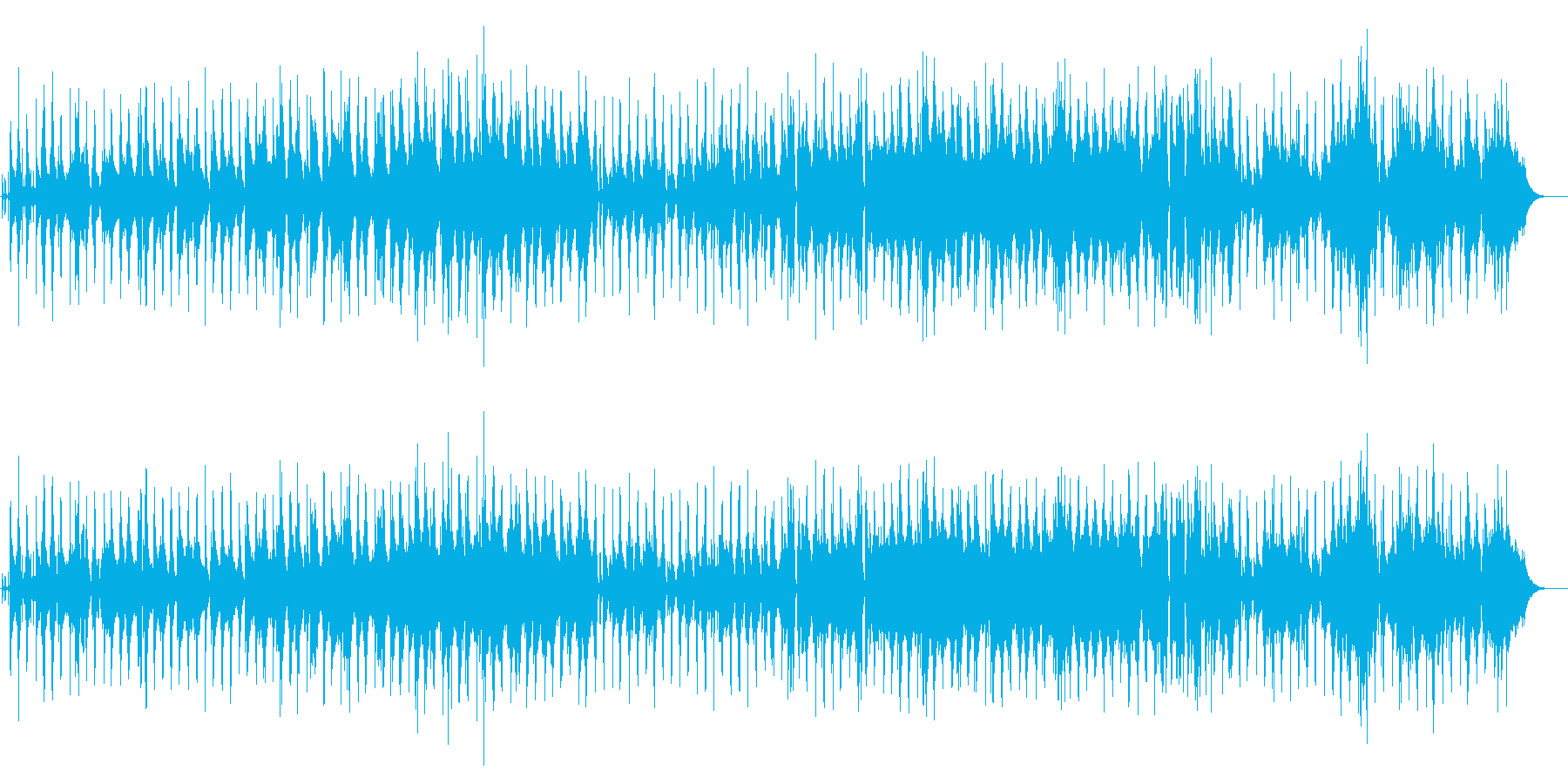管楽器を使った落ち着いた気だるいバラードの再生済みの波形