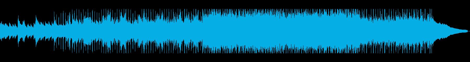 ピアノからギター演奏に変る美しいサウンドの再生済みの波形
