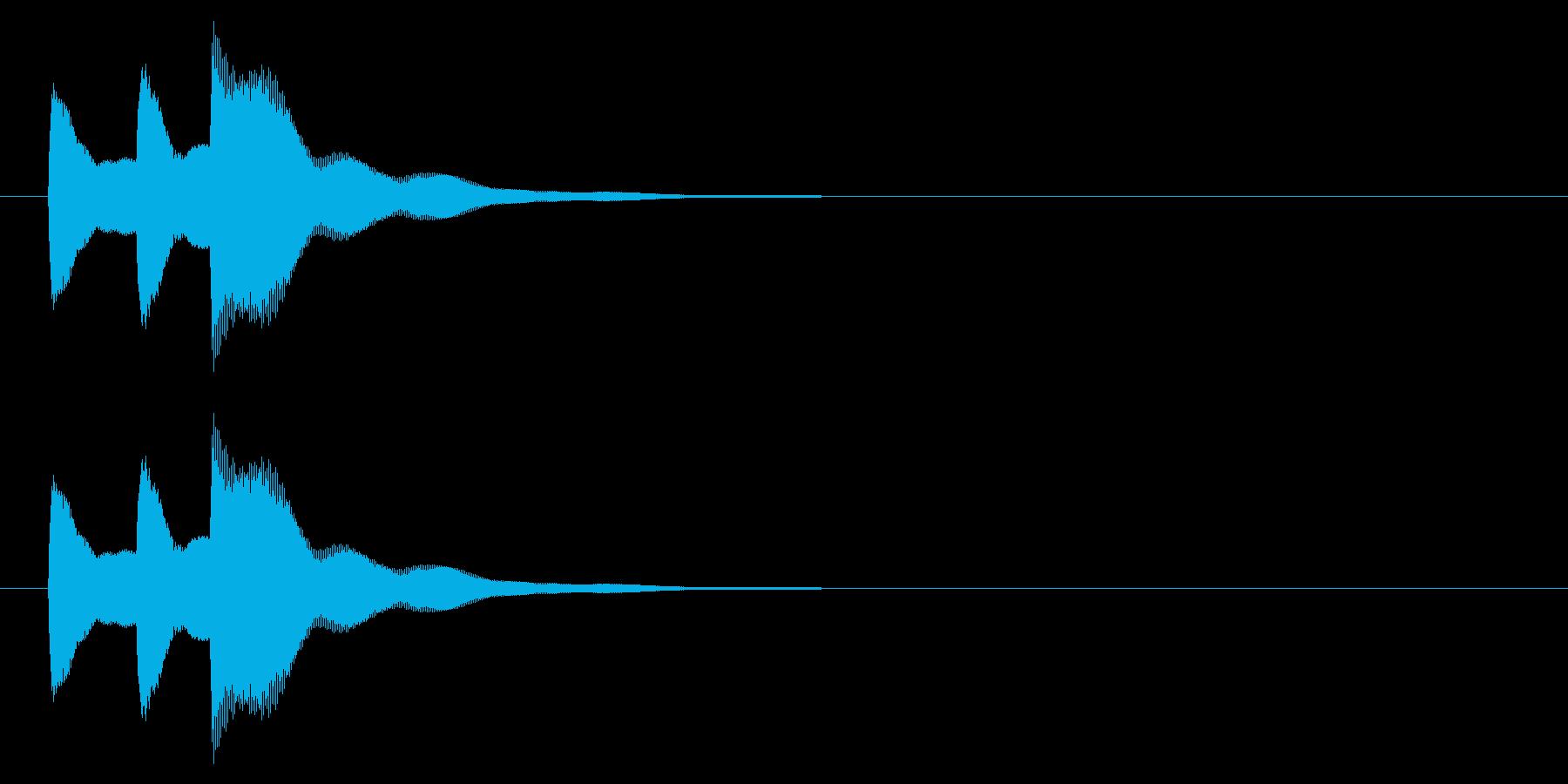 ニュース アラート04-1の再生済みの波形