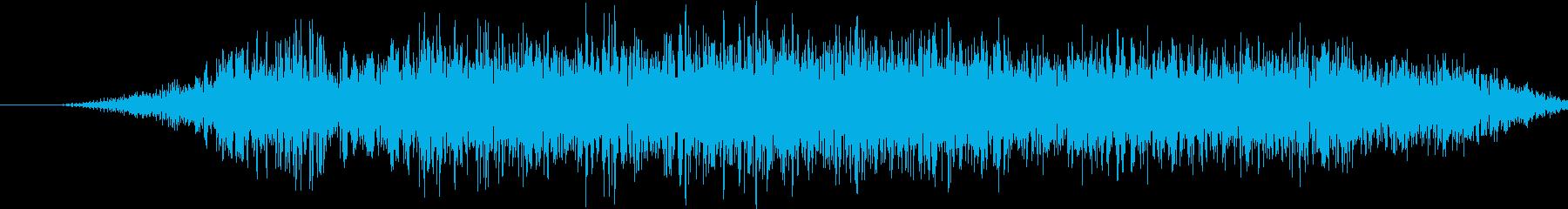 中学生:教室:「ああ」、興奮、驚き...の再生済みの波形