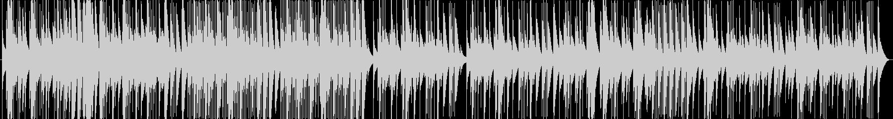 木琴(マリンバ)のとぼけた感じの曲の未再生の波形