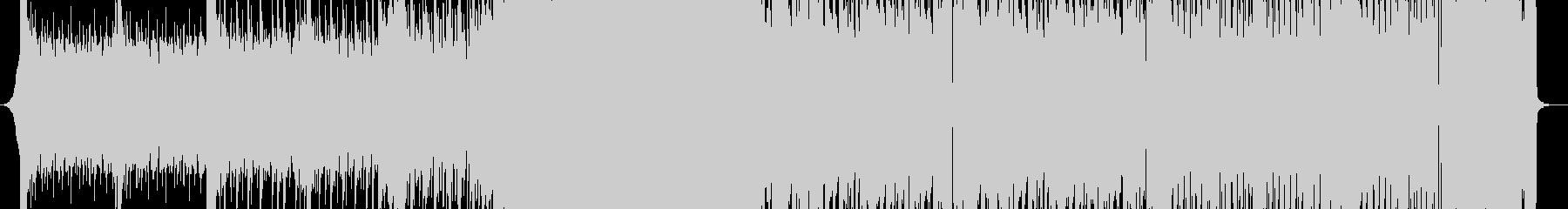 低音が目立つブロステップの未再生の波形