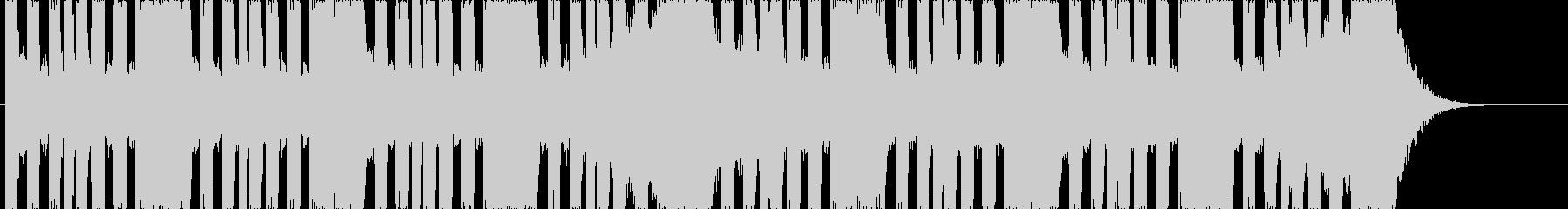 低音ゴリゴリ!ハードシンセなEDMの未再生の波形