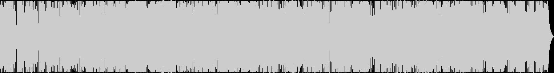 汎用性の高い4つ打ちダンス曲の未再生の波形
