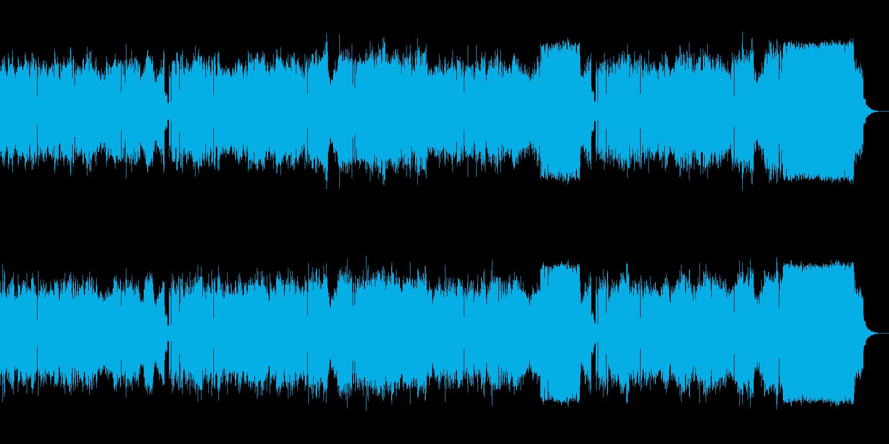 緊迫感のあるプログレ変拍子ボス系の曲【…の再生済みの波形