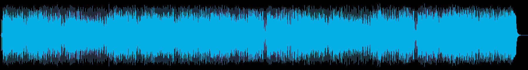 宇宙感と壮大なシンセサイザーサウンドの再生済みの波形