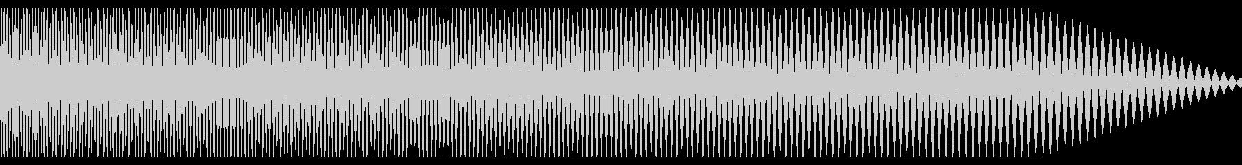 ハリウッド映画でよく聞く低音の効果音2の未再生の波形