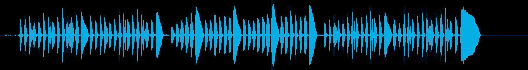 Bugle PlaysΓÇÿrev...の再生済みの波形
