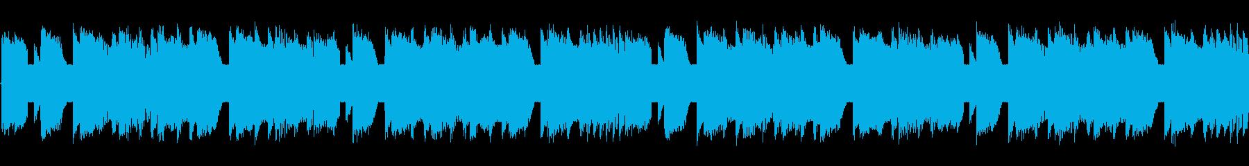 チップチューンの軽快な短いループ3の再生済みの波形