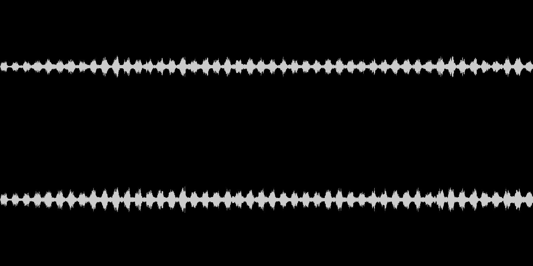 キーンの未再生の波形