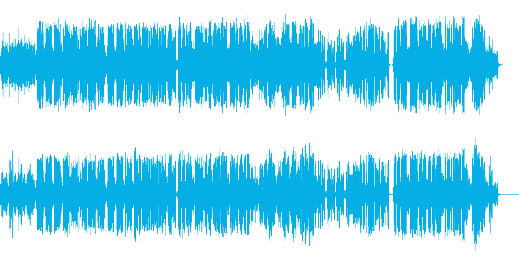 Mid-tempo pop with an impressive piano's reproduced waveform