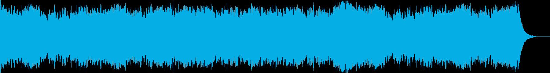 KH風何か始まりそうなオーケストラ楽曲の再生済みの波形