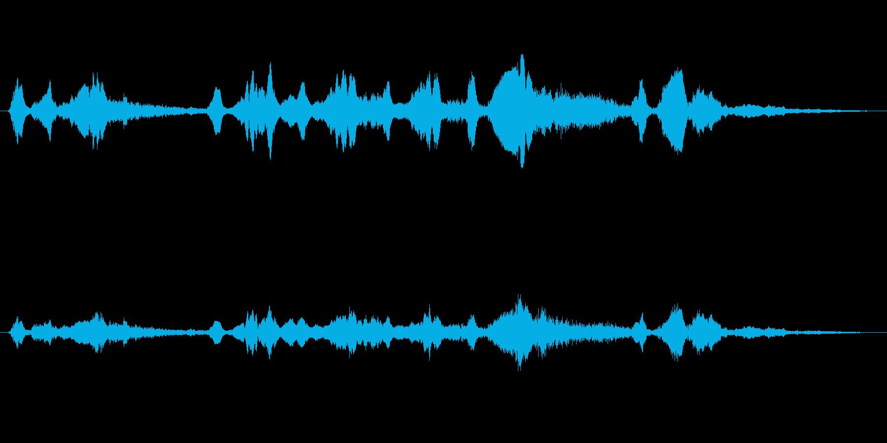 シンセ 巨大な歪みシーケンス03の再生済みの波形