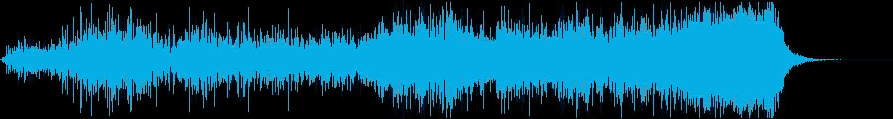30秒サウンドロゴ/コーラス爽涼、疾走感の再生済みの波形